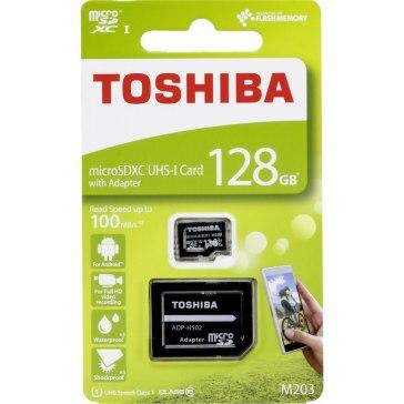 Toshiba Memoria microSDXC 128GB Clase 10