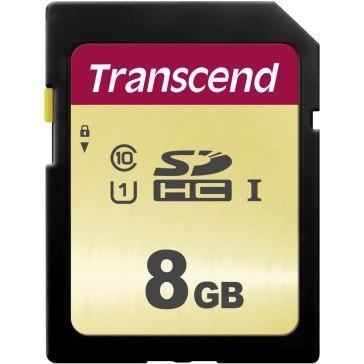 Transcend Memoria SDHC 8GB 500S
