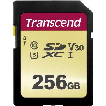 Transcend Memoria SDXC 256GB 500S