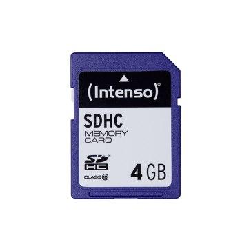 Intenso Memoria SDHC 4GB Clase 10