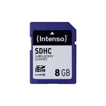 Intenso Memoria SDHC 8GB Clase 10