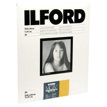 Papel fotográfico Ilford Multigrade IV RC 25M 18x24cm 25 ud.