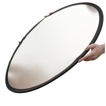 Reflector Circular Lastolite Plateado / Blanco 50cm