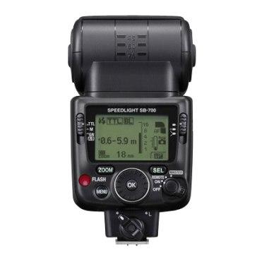 Flash Nikon SB-700 para Kodak DCS Pro 14n