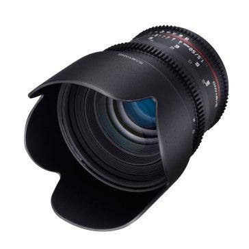 Objetivo Samyang VDSLR 50mm T1.5 Sony E para Sony A6100