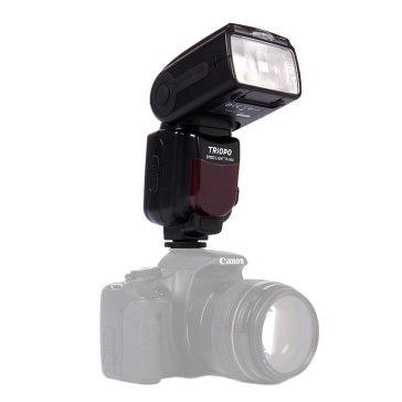 Flash Universal Triopo TR-960 II para Canon, Nikon, Pentax, Olympus, Panasonic y Samsung
