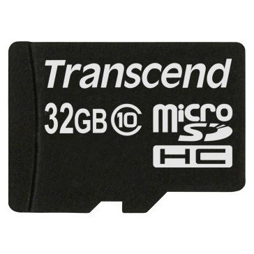 Memoria Transcend MicroSDHC 32GB Clase 10 para Samsung NX11