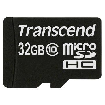 Memoria Transcend MicroSDHC 32GB Clase 10 para Sony A6100