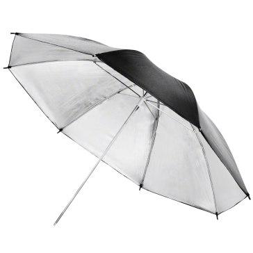 Walimex Reflex paraguas plateado 84 cm