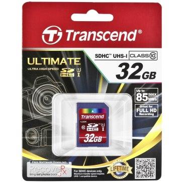 Memoria Transcend SD Card  SDHC 32GB Class 10 / UHS-I