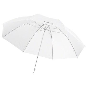 Paraguas translúcido blanco Walimex Pro 109cm