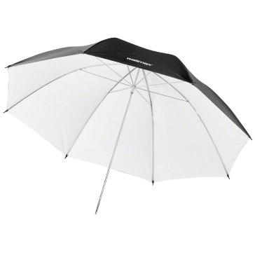 Walimex Pro Reflex paraguas negro/blanco 109cm