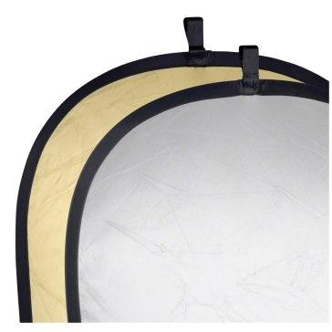 Reflector plegable Walimex  Oro / Plateado 91 x 122cm