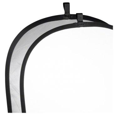 Reflector plegable Walimex Plateado / Blanco 91 x 122cm