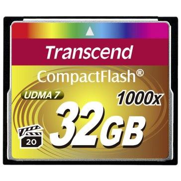 Memoria Compact Flash Transcend 32GB 1000x