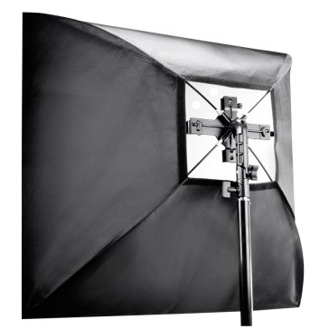 Walimex Set de Soporte Quad Flash + Softbox 60x60cm
