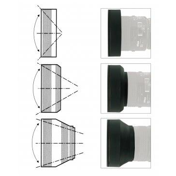 Parasol circular para Ricoh Caplio GX200