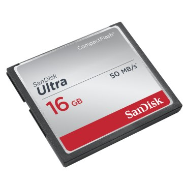 SanDisk 16GB Compact Flash Memory Card for Canon EOS 1D X Mark II