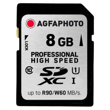 Memoria SDHC AgfaPhoto 8GB Professional Ultra High Speed Clase 10