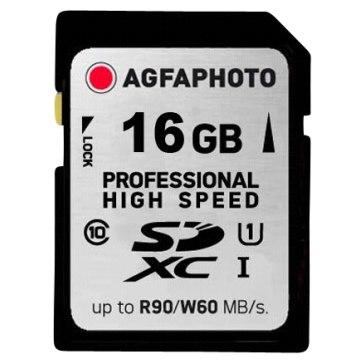 Memoria AgfaPhoto SDHC UHS I 16GB Profesional High Speed Class 10