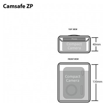 Funda Pacsafe Camsafe ZP para Kodak EasyShare C433