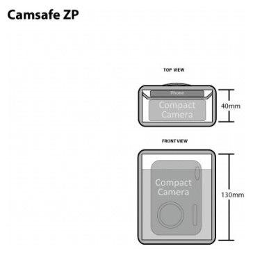 Funda Pacsafe Camsafe ZP para Ricoh Caplio GR Digital II
