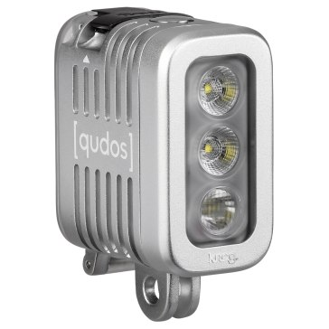 Antorcha LED Knog qudos Action Gris