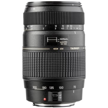 Tamron 70-300mm f/4.5-6.0 DI LD Macro para Canon EOS 1200D