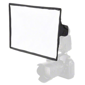 Softbox Walimex 30x20cm para Flashes Compactos